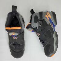 Nike Air Jordan 8 VIII Retro GS Size 4 Y/Phoenix Suns Black Citrus OG 305368-043