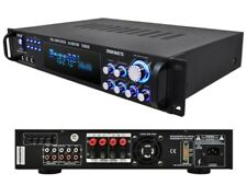 Pyle P2001AT 2000 Watts Hybrid Amp/Amplifier +AM/FM Tuner +Audio Inputs/Outputs