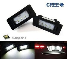 White License Plate Light CREE LED No Error For BMW E88 E90 F30 E39 E60 F10 E70