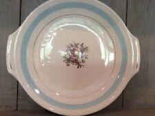 Vintage WH Grindley High Tea Plate Stancliffe Bird of Paradise design 1914-25