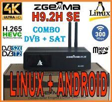 Decoder Zgemma H9.2H SE Wifi combo DVB + SAT con wifi linux +android