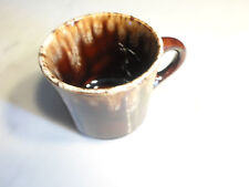 Vintage Brown Drip Coffee Cup E