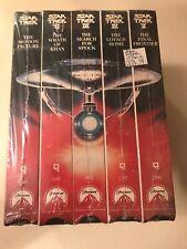 Star Trek I, II, III, IV, & V VHS (5 Total Tapes)