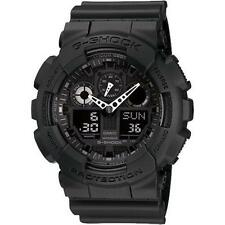 Casio G-Shock GA-100-1A1 Ana-Digi 200m WR Magnetic Black Resin Strap Mens Watch