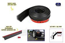 Tuning Alfa Mito gomma protezione universale urti auto Romeo per paraurti nero