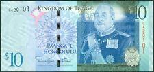 TWN - TONGA 40b - 10 Pa'anga 2014 UNC Prefix C