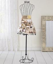 Vintage Metal Wire Mannequin Dress Form Organize Closet Boutique Display Scarf