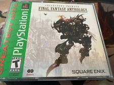 Final Fantasy Anthology Complete Black Label PlayStation 1 Ps1