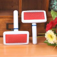 Dog Puppy Pet Hair Shedding Grooming Trimmer Comb Brush Slicker Rake Tools