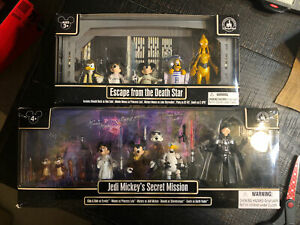 Escape from the Death Star & Jedi Mickey's STAR WARS Star Tours DISNEY Exclusive