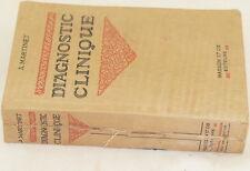MARTINET DIAGNOSTIC CLINIQUE CLINICA DIAGNOSTICA ESAMI ESPLORATIVI MEDICINA 1920