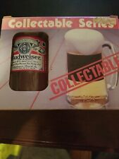 Budweiser Collectable Series Glasses Spencer Gifts Inc 1986