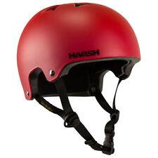 Équipements et protections rouge unisexe pour skate, roller et trottinette