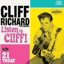 RICHARD CLIFF & THE SHADOWS - LISTEN TO CLIFF! (+ 21 TODAY) NEW CD