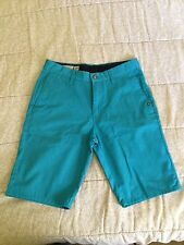 Volcom Shorts 28 Men's Torquoise New w/o Tags