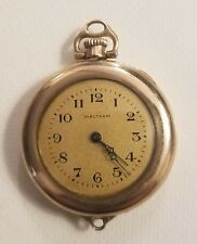 Vintage 1918 Watham Ladies Pocket watch converted to wristwatch. NON WORKING.