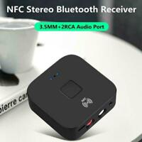 Wireless Bluetooth 5.0 Receiver 3.5mm Jack APTX LL Audio AUX Adapter A0W7