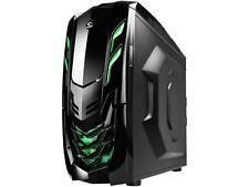 RAIDMAX Viper GX ATX-512WBG Black / Green Steel / Plastic ATX Mid Tower Computer