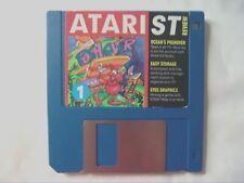62014 Atari ST Review - Pushover / Easy Storage / STOS Graphics - Atari ST ()