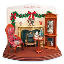 Reutter Porzellan Display Weihnachten Christmas Evening Diorama Puppenstube 1:12