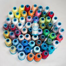 Brother to Marathon Polyester Machine Embroidery Threads 1000m x 57 Colours Pack