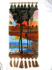 Sehr schöner 70´s Design Wandteppich / beautiful wall carpet  80 x 50 cm Marokko
