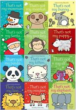 That's Not My Toddlers Collection Usborne Touchy-Feely 12 Books Set Fiona Watt