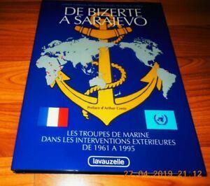 De Bizerte à Sarajevo-Troupes de Marine de 1961 à 1995-Lavauzelle-1995-LD43
