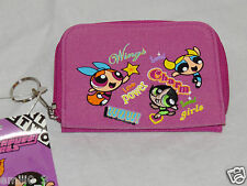 NEW WITH TAGS   PINK POWERPUFF GIRLS COIN WALLET