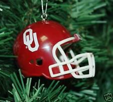 University of Oklahoma Football Helmet Christmas Ornament