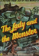 THE LADY AND THE MONSTER (1944) ERICH VON STROHEIM