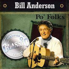 Anderson, Bill : Po Folks CD