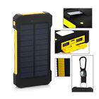 LED Dual USB Ports Solar Panel Power Bank Case Box Charger DIY Material Kits