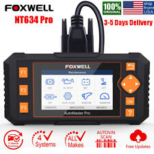 Foxwell NT634 Engine ABS SRS Transmission OBD2 Car Diagnostic Scanner Automotive