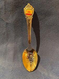 California Silver Tone Souvenir Spoon
