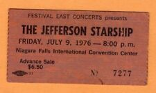 1974 J Geils Band concert ticket stub Niagara Falls NY Ladies Invited