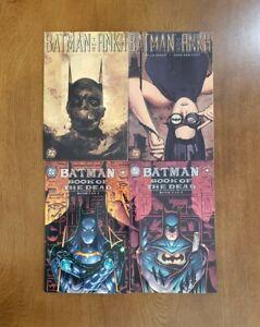 Batman: The Ankh & Book of the Dead 1-2 SET 4 DC Comics TPB GN OOP Dixon, Kitson