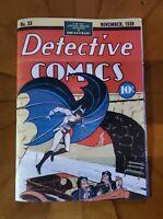 Batman Detective Comics # 33  Golden Age Replica Edition ☆☆☆☆  Mint