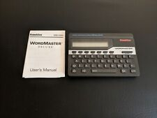Franklin Wordmaster Wm-1055A Pocket Spell Checker Thesaurus Word Game Player Vtg