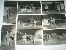 Original  Circus Negatives lot of 34  COLE & WALTERS  1952