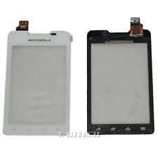 "Motorola XT390 XT389 White Digitizer Touch Screen Glass + tools ""UK"" Motosmart"