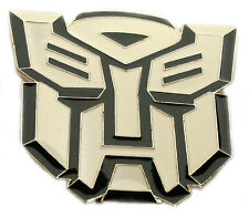 BRAND NEW TRANSFORMERS (WHITE) AUTOBOT SUPER HERO COMIC ENAMEL BELT BUCKLE