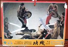 Crippled Avengers {Kuan Tai Chen} Rare Kung Fu Film Lobby Card 1970s