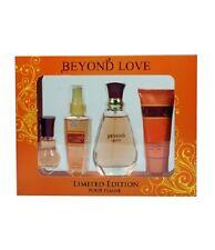 Women's Perfume Set Beyond Love set of 4