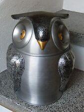 Seau à Glaçons Hibou Chouette Made in Italy Ice Bucket Owl en Aluminium