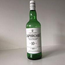 Laphroaig Islay Single Malt Scotch Whiskey 750 ml Empty Bottle Green Recycle