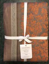 "William Sonoma Acorn Harvest Jacquard Tablecloth, 70"" X 126"", New W/ $189.95 Tag"