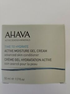 AHAVA Time To Hydrate Active Moisture Gel Cream, 1.7 FL. OZ NIB