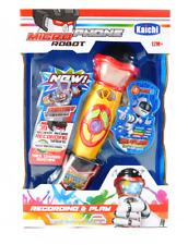 Mikrofon für Kinder Karaoke Spielzeug schnurlos Microphone Aufnahmefunktion NEW