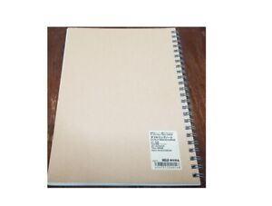 MUJI Grid Notebook A5 7mm 48sheets Beige